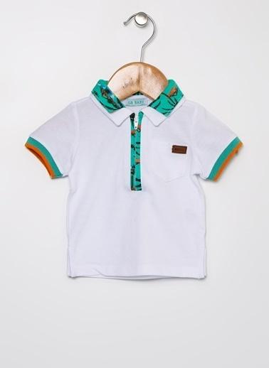 BG Baby BG Baby Beyaz Polo T-Shirt Beyaz